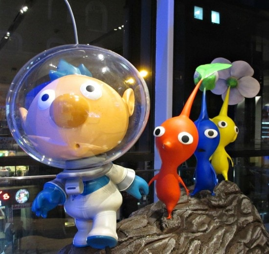 Pikmin at Nintendo World NYC