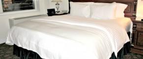 Bedroom at The Kimberly NYC