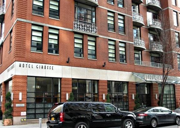 Hotel Giraffe exterior