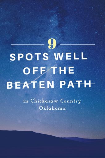 Chickasaw Country is steeped in history, culture, beauty and natural wonders. Well off the beaten path in Tishomingo, Oklahoma, are several interesting attractions.