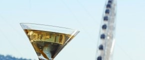 American Goldfinch Martini