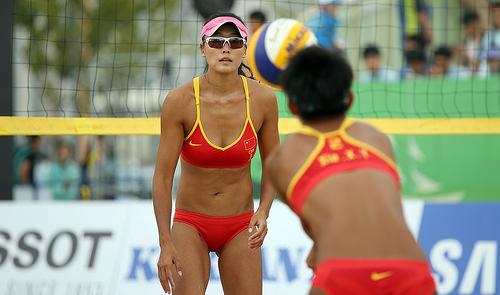 beach volleyball  photo