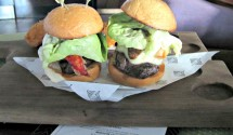 Surf & turf sliders at Vice Versa, Vdarra