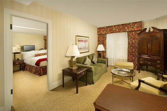 King Suite at Mayflower Park Hotel Seattle