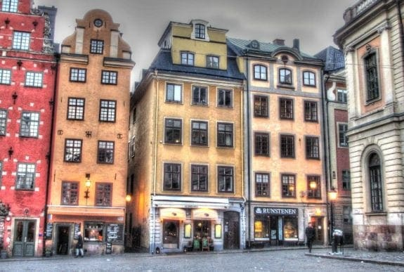 Old Town in Stockholm