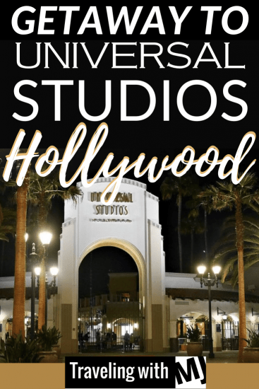 arches at entrance to universal studios hollywood