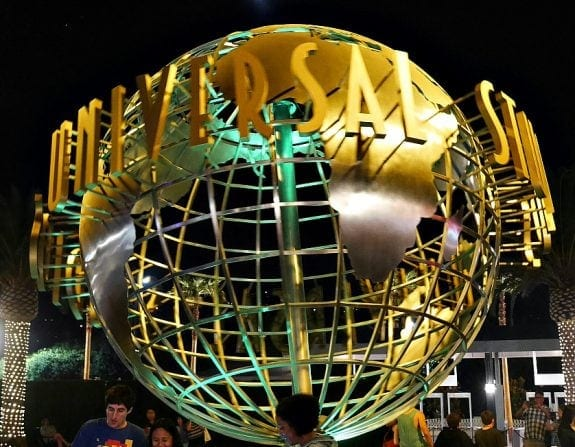 Globe at Universal Studios Hollywood
