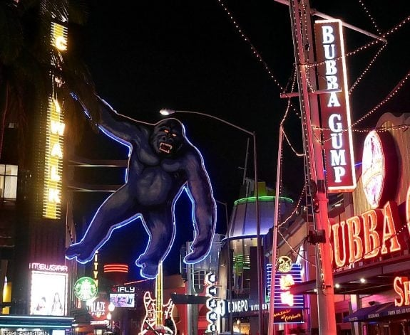 king kong at city walk