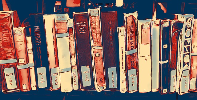 book shelf photo