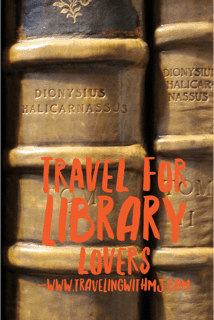 Whether it's stopping off to do a little research or get an internet connection at a local library, or to visit a historically or culturally significant site, sleuthing out a library in advance of your travels is worth your time.