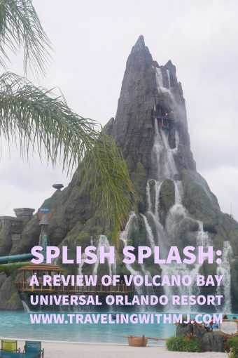 Without a doubt, the centerpiece of the Volcano Bay is the 200-foot volcano, Krakatau. This is the location for the Ko'okiri Body Plunge, the world's tallest body slide