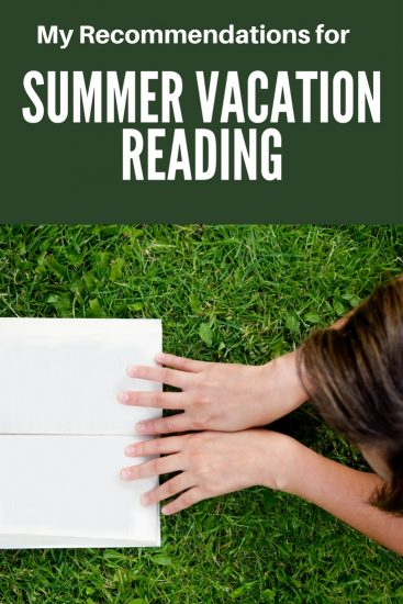 Whether you're looking at hours on a plane, lounging by the pool,  sacked out in a hammock, or hiding away at a cabin, here are some summer vacation reading recommendations. Based on the PopSugar 2017 reading challenge.