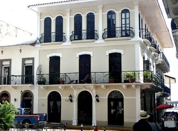 architecture in old town panama, a unesco heritage site