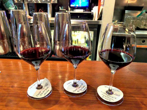 Wine tasting at barrel room san francisco