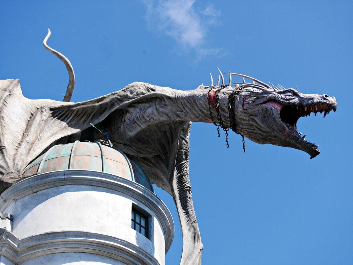 dragon in diagon alley