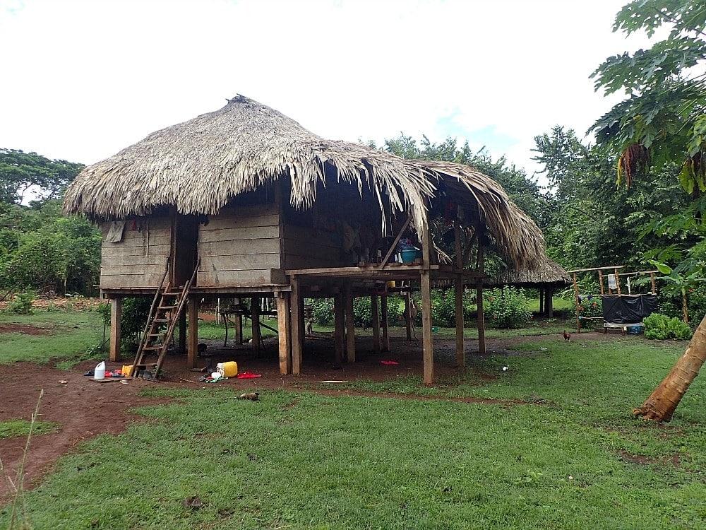 Embera home