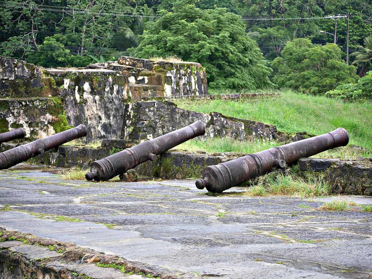 UNESCO ruins in Portobelo Panama