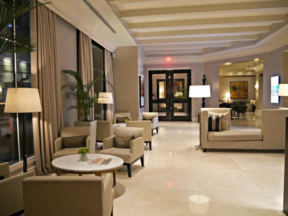 Lobby of Bristol Hotel, Panama City, Panama