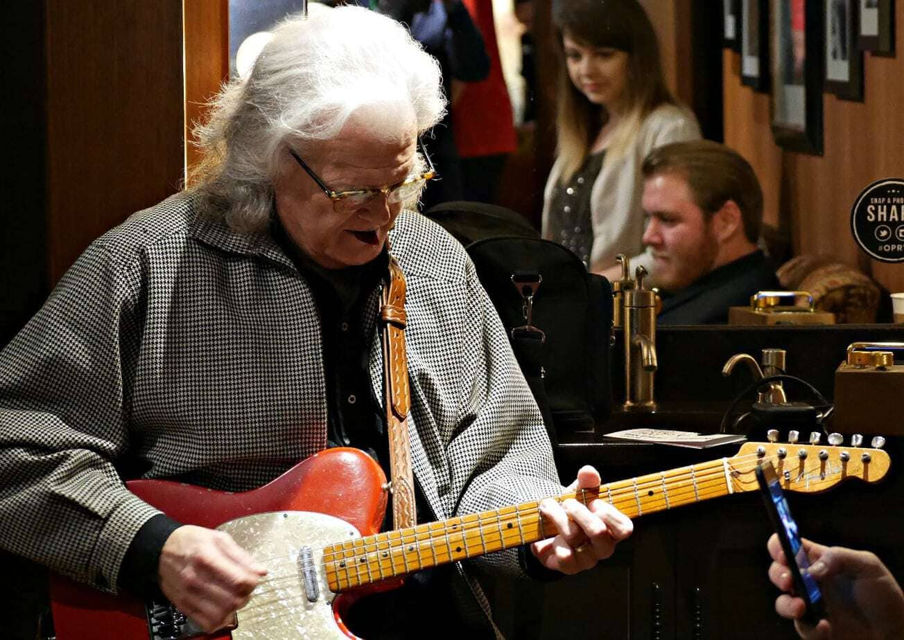 ricky skaggs backstage grand ole opry
