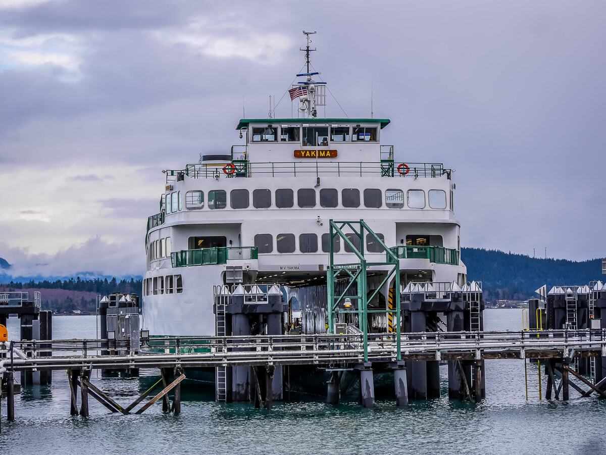 washington state ferry to San Juan Island