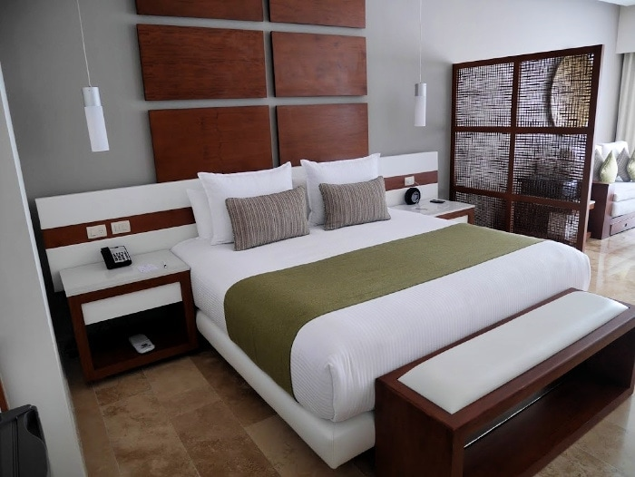 Suite at the all inclusive adult only Reef 28 in Playa del Carmen Mexico