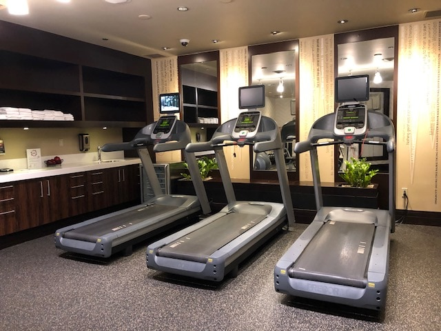Fitness center at the Tulalip Resort and Casino in Washington State