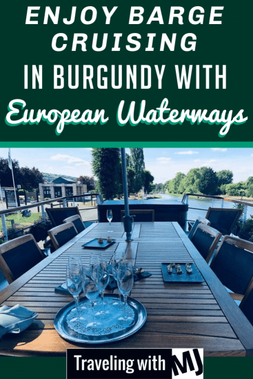 Barge Cruising in Burgundy