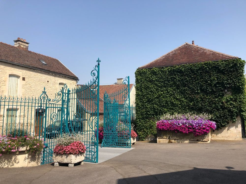 We enjoy a tour and private wine tasting at a private tour of Maison Alexandre Bonnet, a family-owned Champagne house that is known for its Pinot Noir vintages.
