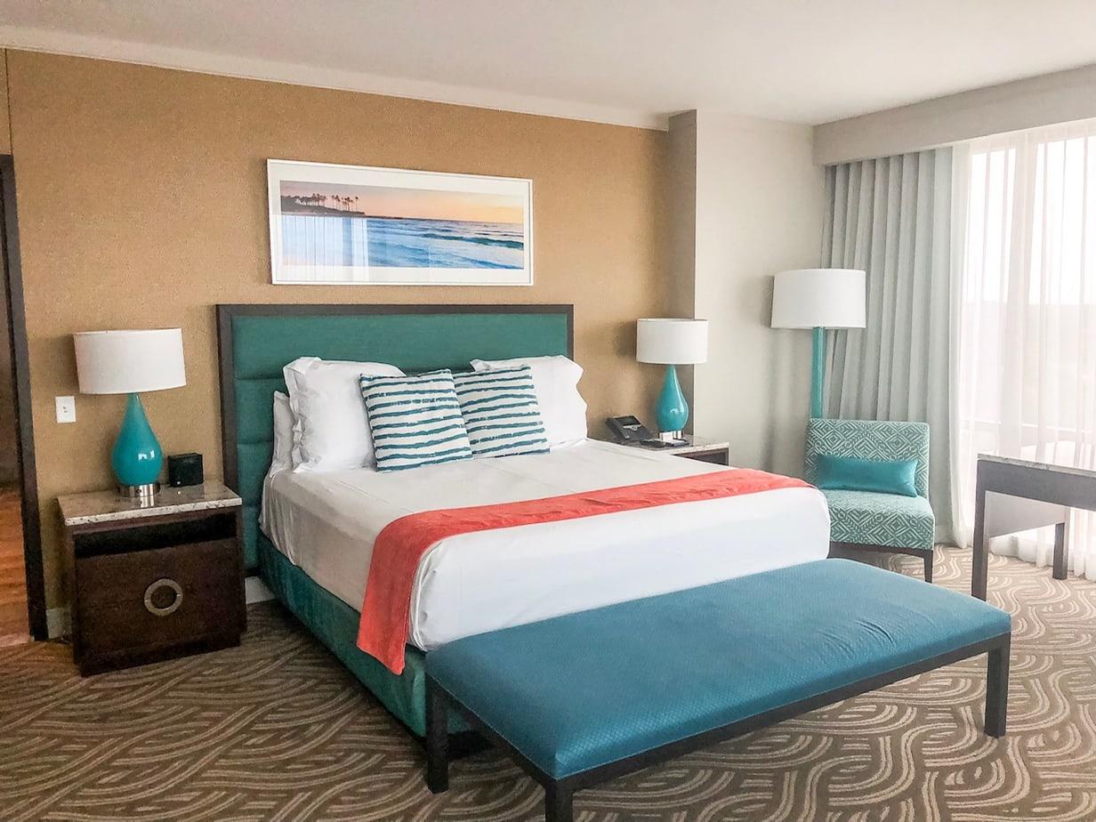 Bedroom at River/Spirit Margaritaville in Tulsa, Oklahoma
