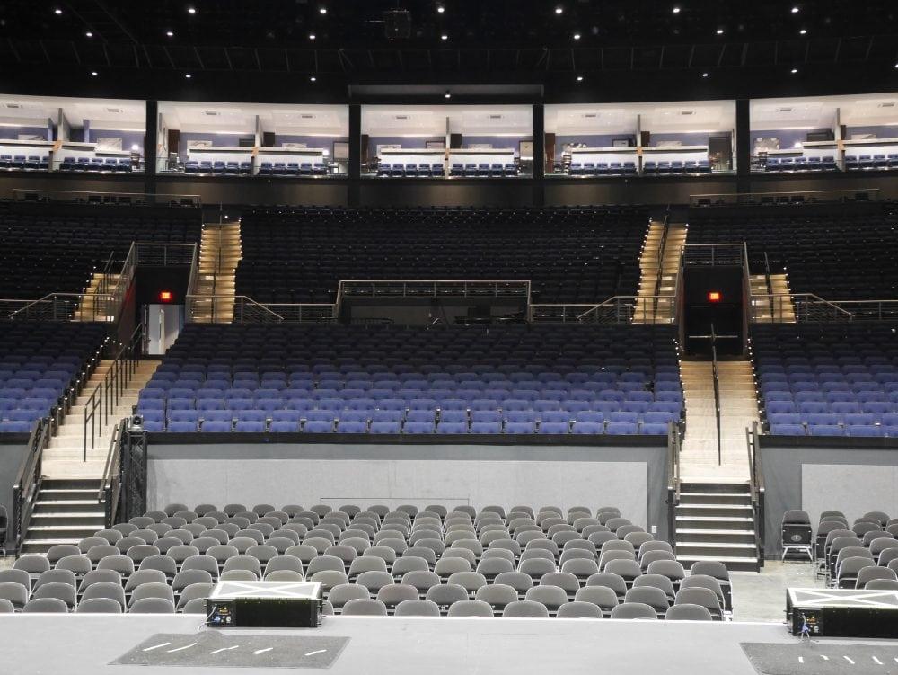Paradise Cove concert venue at River Spirit/Margaritaville Resort & Casino in Tulsa, Oklahoma.