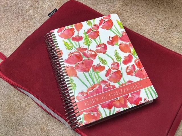 Plum Paper customized planner