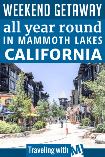 Plan Your Trip to Mammoth Lakes, California