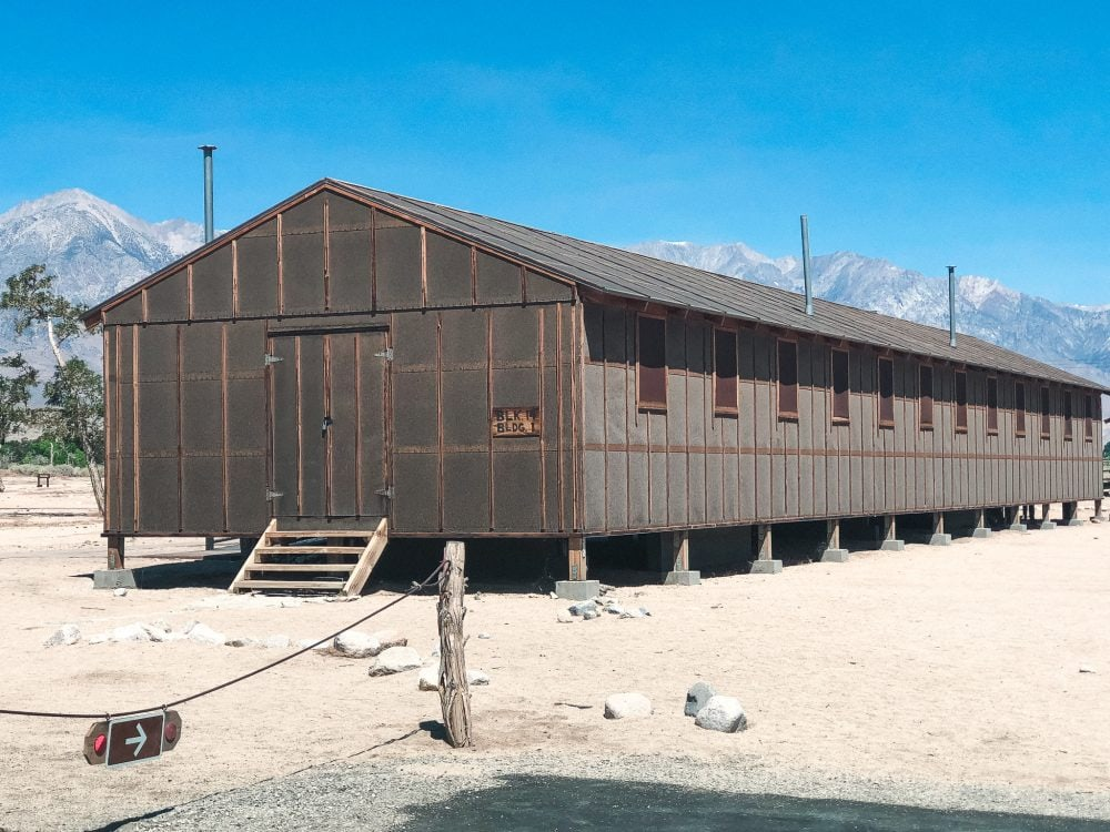 Manzanar National Historic Site, the site of one of ten camps where Japanese-Americans and Japanese foreign nationals were incarcerated during the Second World War, is a sobering and moving visit.