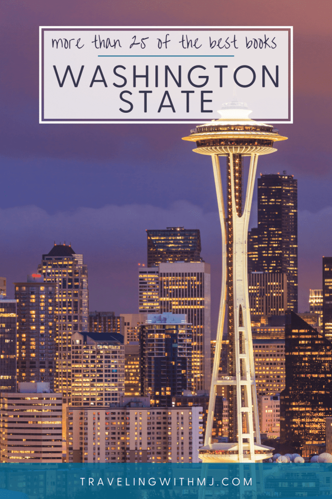 pin of Enjoy this list of recommendent books set in Washington State.